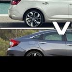 Honda Civic ve Renault Megane Karşılaştırma