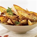 Kavrulmuş Sarımsaklı Fırında Patates