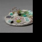 Keçelerden Küf Görünümlü Dekoratif Süs Eşyaları