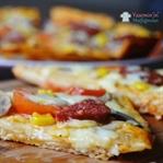 Lavaş Pizza Tarifi (Tavada Pizza)