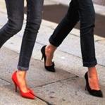 Sivri Burunlu Ayakkabı Başparmak Çıkıntısı Yapıyor