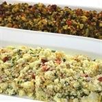 Zeytinli ve Lor Peynirli Kahvaltılık Salata Tarifi
