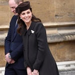 Kate Middleton: Catherine Walker Manto