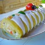 Patatesli Rulo Salata Tarifi