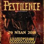 Pestilence 29 Nisan 2018'da Kadıköy Sahne'de