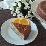 Portakallı Haşhaşlı Kek