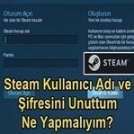 Steam Şifremi Unuttum Nasıl Değiştirebilirim?