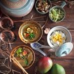 Tavuk &Karidesli Thai Köri