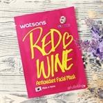 Watsons Red Wine Antioxidant Kağıt Maske