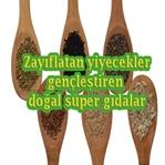 Zayıflatan yiyecekler doğal süper gıdalar