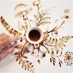 Kahveden Sanat Yaradan Bir Adam:Giulia Bernardelli
