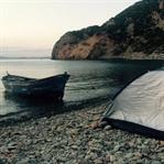 Sarozun İncisi Kömür Limanı'nda Kamp