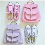 Spor ayakkabı-spor çanta