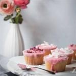 Vanilyalı Cupcake - Glazür Soslu