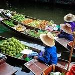 Dünyanın En Renkli Pazarları Bangkok'ta