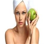 Elma maskesi ile sağlıklı bir cilt