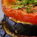 Fırında Domatesli Bostan Patlıcan Tarifi