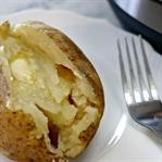 Fırında Patates Anında Nasıl Pişer !