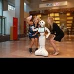 Robot Pepper ve arkadaşları, HSBC'de işbaşı yaptı