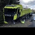 Volvo İle Tırın Çarpıştığı Kazada, Tıra Ne Oldu?