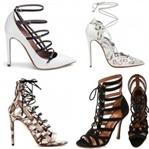 2018-2019 Lace Up Sandalet Ayakkabı Modelleri