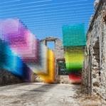 """Antik Yunan Kalıntılarında Renkli """"Piksel"""" Dansı"""
