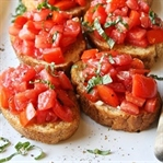 Bruschetta Tarifi - Bir İtalyan Lezzeti