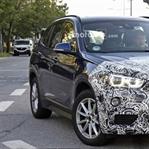 Makyajlı 2019 BMW X1 ilk kez casus fotoğrafları