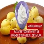 Patates ve Yoğurt Diyeti