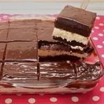 Çikolata ve Hindistan Cevizi Kremalı Pasta Tarifi