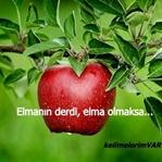 ELMANIN DERDİ, ELMA OLMAKSA...