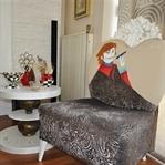 Erenköy'de Residence Salon Dekorasyonu