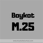 M25 Boykot