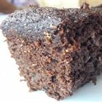 Şekersiz Glutensiz Islak Kek