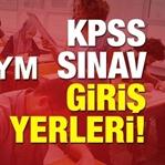 2018 KPSS Ortaöğretim Sınav Yerleri Açıklandı
