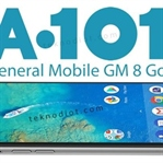 A101 General Mobile GM 8 Go Satacak
