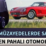 Açık arttırmayla satılan en pahalı otomobiller