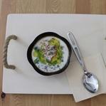 Glutensiz Semizotlu Soğuk Çorba