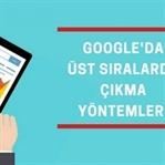 Google'da Üst Sıralarda Çıkma Yöntemleri