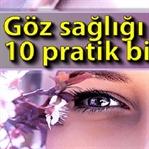 Göz Sağlığı İçin Pratik Bilgiler