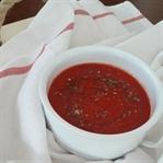 Kışlık Kırmızı Biberli Domates Sosu