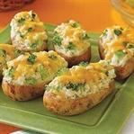 Peynir Dolgulu Fırın Patates