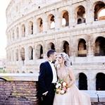Roma'da Bir Düğün Fotoğrafı Çekimi
