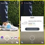 Snapchat Kamerasıyla Amazon'dan Alışveriş Yapma