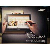Samsung Galaxy Note 10.1 İçin Yeni Video