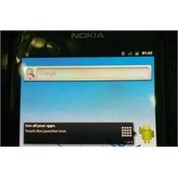 Android'li Nokia Görselleri Gerçek Ama...