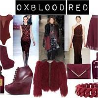 Sonbahar Favori Trendi : Oxblood