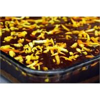 Çikolata Soslu Portakallı Dilim Kek | Oktay Usta