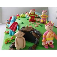 Doğum Günü Pastası _gece Bahçesi