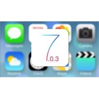 İos 7.0.3 Güncellemesi Yayınlandı!